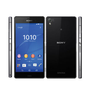 5-2-inch-Sony-Ericssion-Xperia-Z3-D6603-4G-16GB-Mobile-Phone-Unlocked-Black
