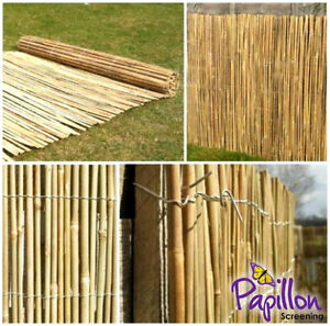 Image Is Loading BAMBOO SCREENING ROLL Screen Fencing Garden Fence Panel