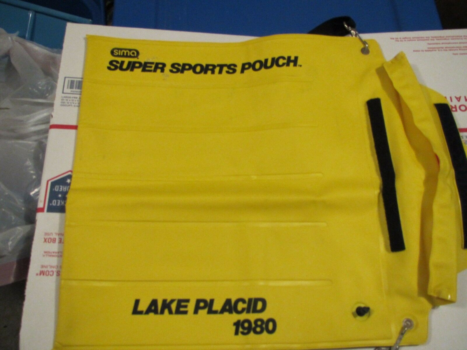 Sima Inflatable Super Sports Pouch - Lake Placid 1980 Comemerative