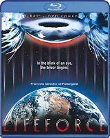 Lifeforce Sealed Blu-ray + Dvd Tobe Hooper