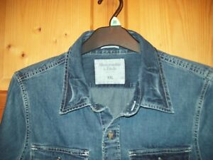 Mens-Abercrombie-amp-Fitch-Denim-Shirt-XXL