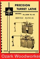 Jet, Enco, Msc, Super-precision,turret Lathe Lht,tl,92040 Owner Part Manual 1179
