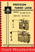 Jet, Enco, Msc, Super-precision,turret Lathe Lht,tl,92040 Owner Part Manual 1179