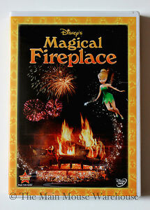 Disney-039-s-Magical-Fun-Virtual-Fireplace-Christmas-Music-Fire-for-Television-DVD