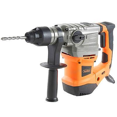 VonHaus 1500W Rotary SDS Hammer Drill Impact Driver Chisel Bits Set Case