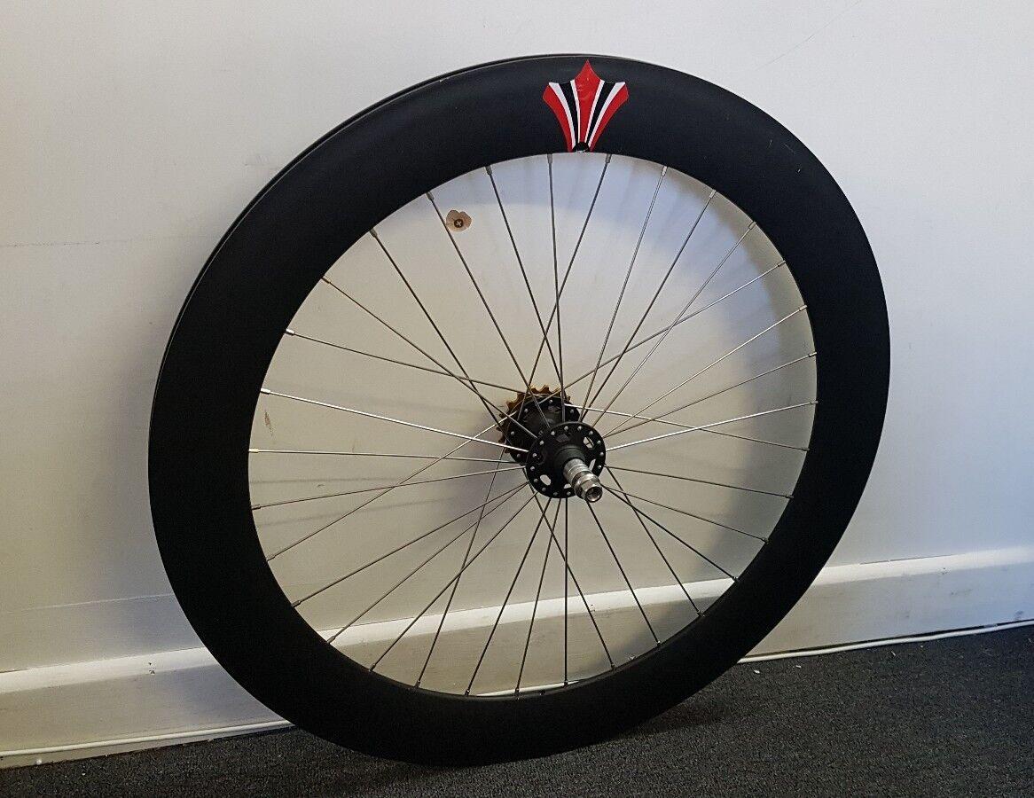 American Classic Hurricane Disc Wide Road Tubeless Wheel REAR
