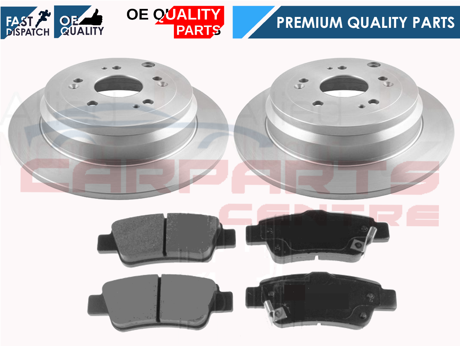 Fits Honda CR-V MK3 2.2 i-DTEC Genuine Mintex Rear Brake Pad Fitting Kit