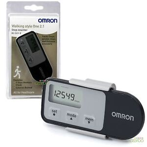 Omron-Walking-Style-2-1-Exercise-Step-Counter-Sensor-Pro-Activity-Monitor-Black