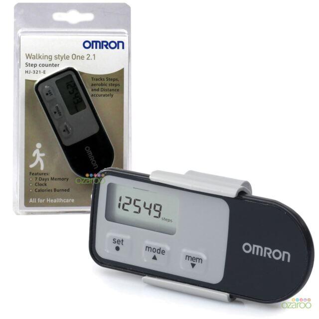 Omron Style Marche 2.1 Exercice Compteur de Pas Capteur Pro Moniteur D'Activité