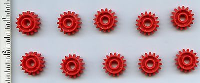 LEGO Red Technic Mindstorms Gear 16 Tooth with Clutch on Both Sides 42039