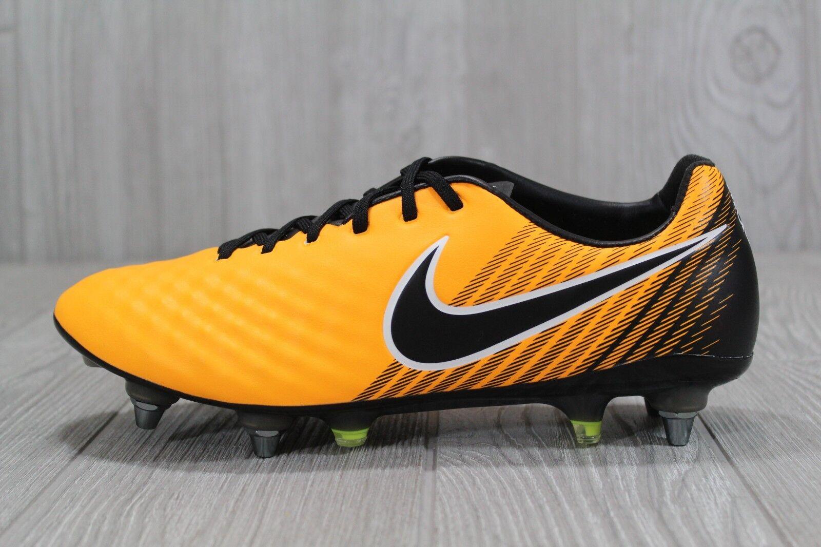 37 New Mens Nike Magista Opus II SG Pro ACC Soccer Cleats Black 844597-802 SZ 8