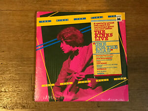 The-Kinks-LP-in-Shrink-w-Hype-Poster-One-For-the-Road-Arista-A2L-8609