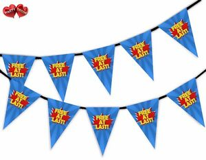 Divorce-Party-Bunting-Banner-15-flags-At-Last-Free-Hero-Style-by-Party-Decor
