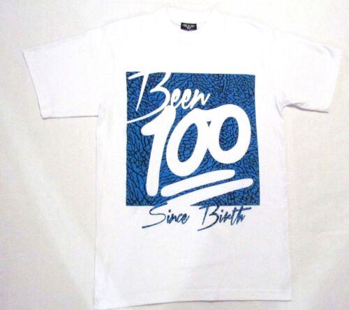 MEN/'S GRAPHIC DESIGNED EMOJI Been100 Since Birth SHORT SLEEVE TEE/'S 100/% COTTON