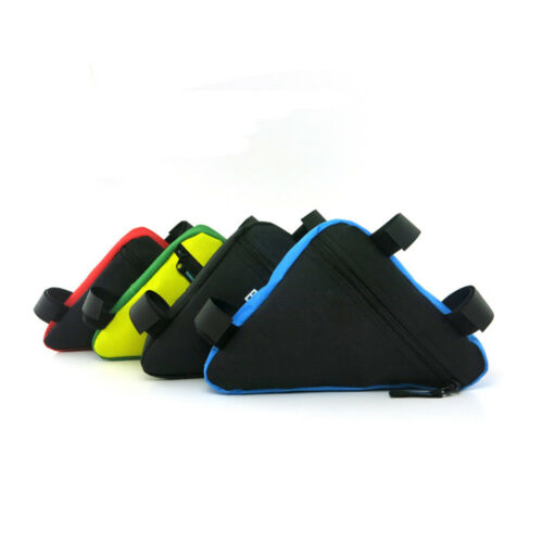 Triangle Cycling Bike Bicycle Front Tube Frame Pouch Bags Holder Saddle Case