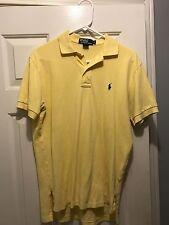 Ralf Lauren Short Sleeve Polo Men's Yellow Size Small