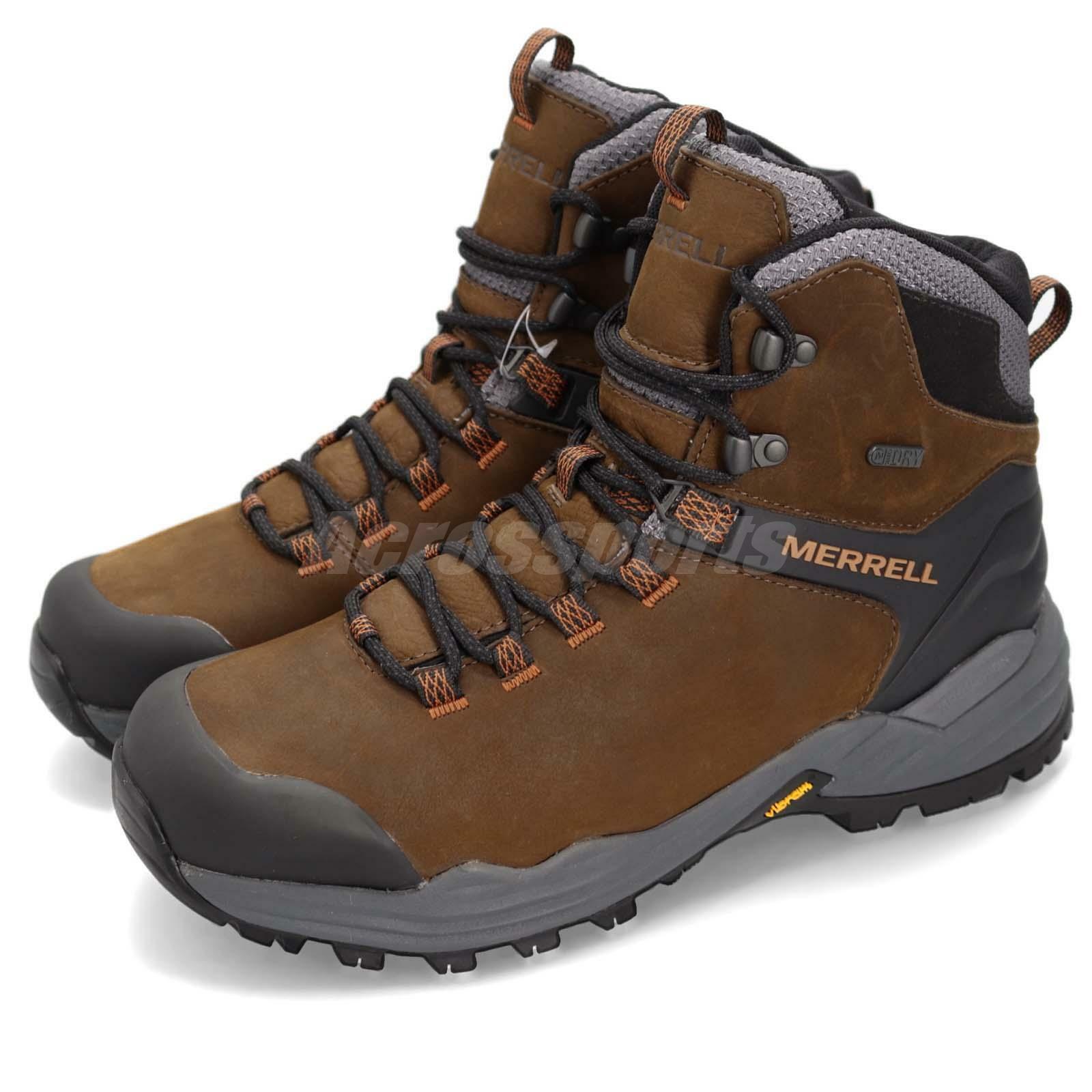 Merrell Pharbound 2 Marronee grigio nero Men  Outdoor Hiking scarpe stivali J48571  comprare a buon mercato