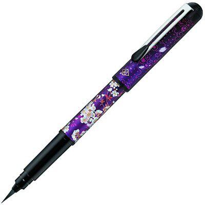 Pentel Pocket Fude Brush Pen with 2 refills / XGFKPH1-A / Toshizo Hijikata Model