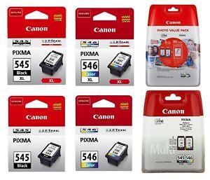 Original-Canon-TINTE-PATRONEN-PG-545-CL-546-XL-PIXMA-MG2550-MG2555-MX494-MX495