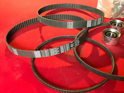 Desinteresado Ferrari F40 308 Bb 328 Original New Timing Kit 4 Belts + 2 Tensioner Bearing