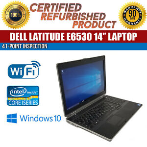 C-Grade-Dell-Latitude-E6530-15-034-Intel-i7-8-GB-RAM-320-GB-HDD-Win-10-WiFi-Laptop