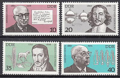 Nr Ddr 1977 Mi 2199-2202 Postfrisch ** Mnh