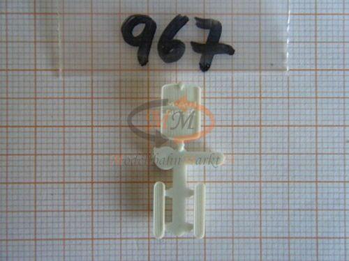 2x ALBEDO Ersatzteil Ladegut Kühlergrill Lüftungsgitter für MAN 1:87-0967