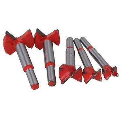 5pcs/Set Drill Bits Professional Forstner Woodworking Hole Saw Cutter 16-35mm J7
