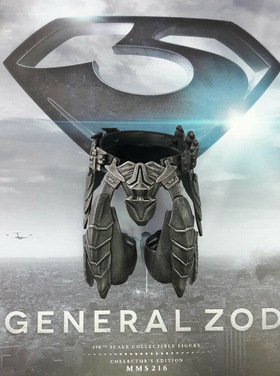1 6 Hot Toys Man Of Steel General Zod MMS216 Waist Thigh Armor US Seller