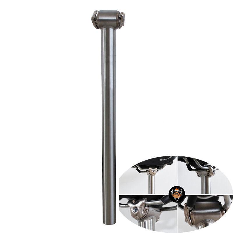 27.2 30.9 31.6 34.9mm  350 400mm Titanium  Alloy Bicycle Bike Straight Seatpost  in stadium promotions
