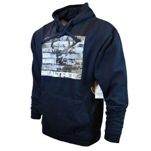 Mens-Sweat-Shirt-Pullover-Hoodie-Sweater-Jacket-REALTREE-Deer-Buck-Hunting-Warm