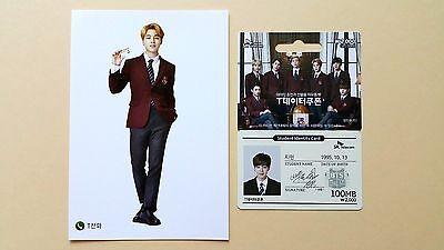 BTS Bangtan Boys SK Telecom Official Student Identity Card + Post Card - Jimin