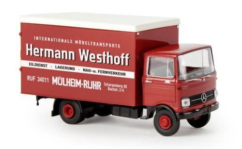 Brekina 48551-1//87 Mercedes-Benz Lp 608 Koffer Neu Hermann Westhoff