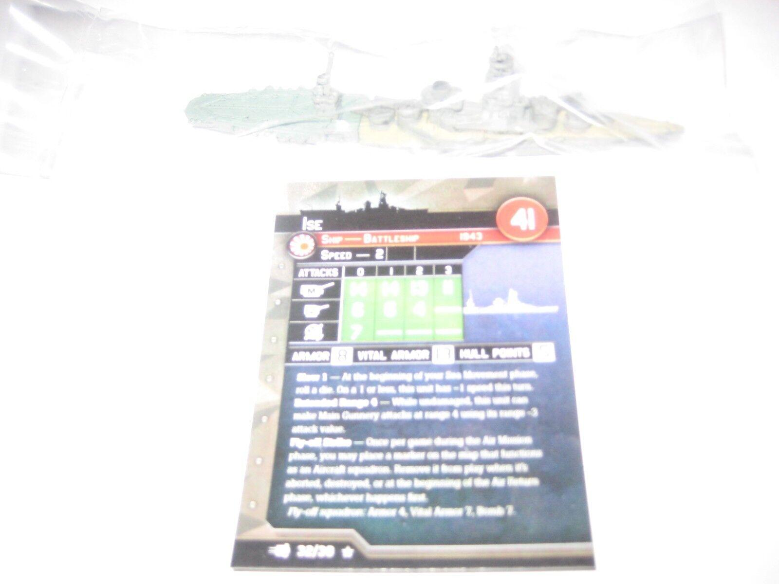 Axis & Allies guerra en el mar flota comando Ise x1