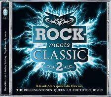 DAVID GARRETT/STIRLING,LINDSEY/KENNEDY,NIGEL/+ - ROCK MEETS CLASSIC 2 2 CD NEU