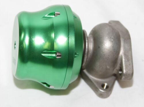 two bolts 4 6 8 10 PSI 4 springs Emusa 38mm wastegate GREEN Turbo adj