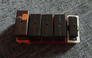 5 used Wylex Plug In Cartridge Fuses
