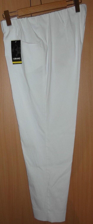 Trousers Weiß Susie KjBre Bengalin 22-23-24-25-26-27-46-48-50-52 Comfortable neu