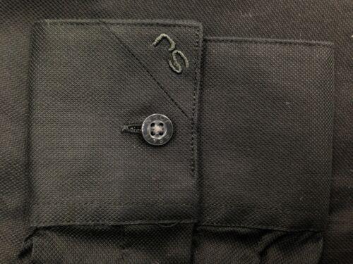 $95 SEAN JOHN Men TAILORED-FIT BLACK LONG-SLEEVE BUTTON DRESS SHIRT 15.5 32//33 M