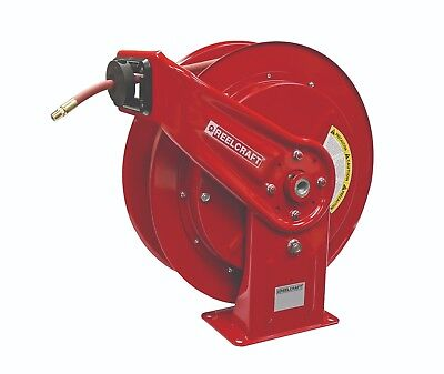 Reelcraft HD76005 OLP Heavy Duty Spring Retractable Hose Reel 100 Air//Water Hose Not Included 100/' Air//Water Hose Not Included