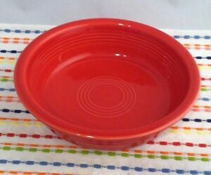 Fiestaware Scarlet Medium Bowl Fiesta Red 19 oz Cereal Bowl