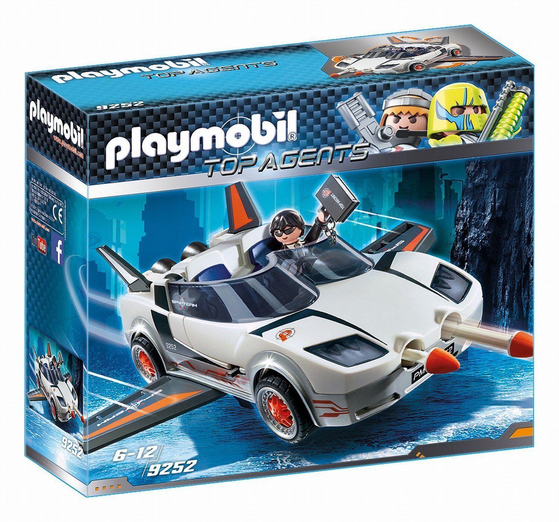 Playmobil Top AGENTS 9252. Agent secreto und Racer. An Ab 6 Jahre  | Qualität Produkte