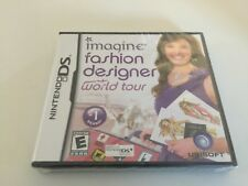 Imagine Fashion Designer World Tour Nintendo Ds 2009 For Sale Online Ebay
