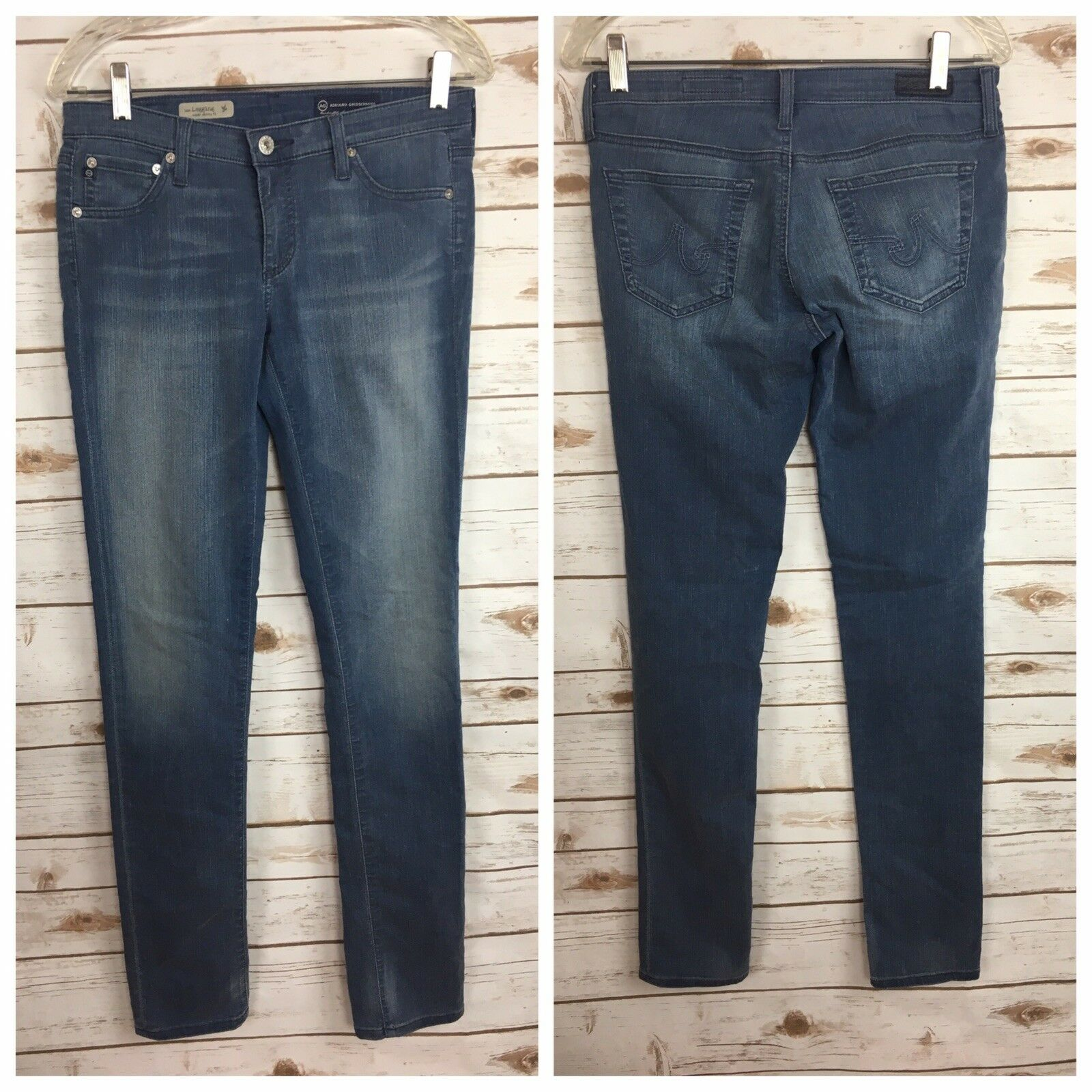AG Adriano goldschmied The Legging Super Skinny Fit Size 27R