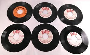 Lot-of-Six-Square-Dance-45rpm-Records-Featuring-Dolph-Hewitt-Bob-Atcher-ect