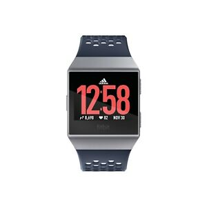 newest 95ba6 ba376 Image is loading Fitbit-Ionic-GPS-Smart-Watch-Adidas-Edition