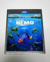 Disney Pixar Finding Nemo Blu-ray 3d Blu-ray Bonus Dvd Digital Copy No Slipcover