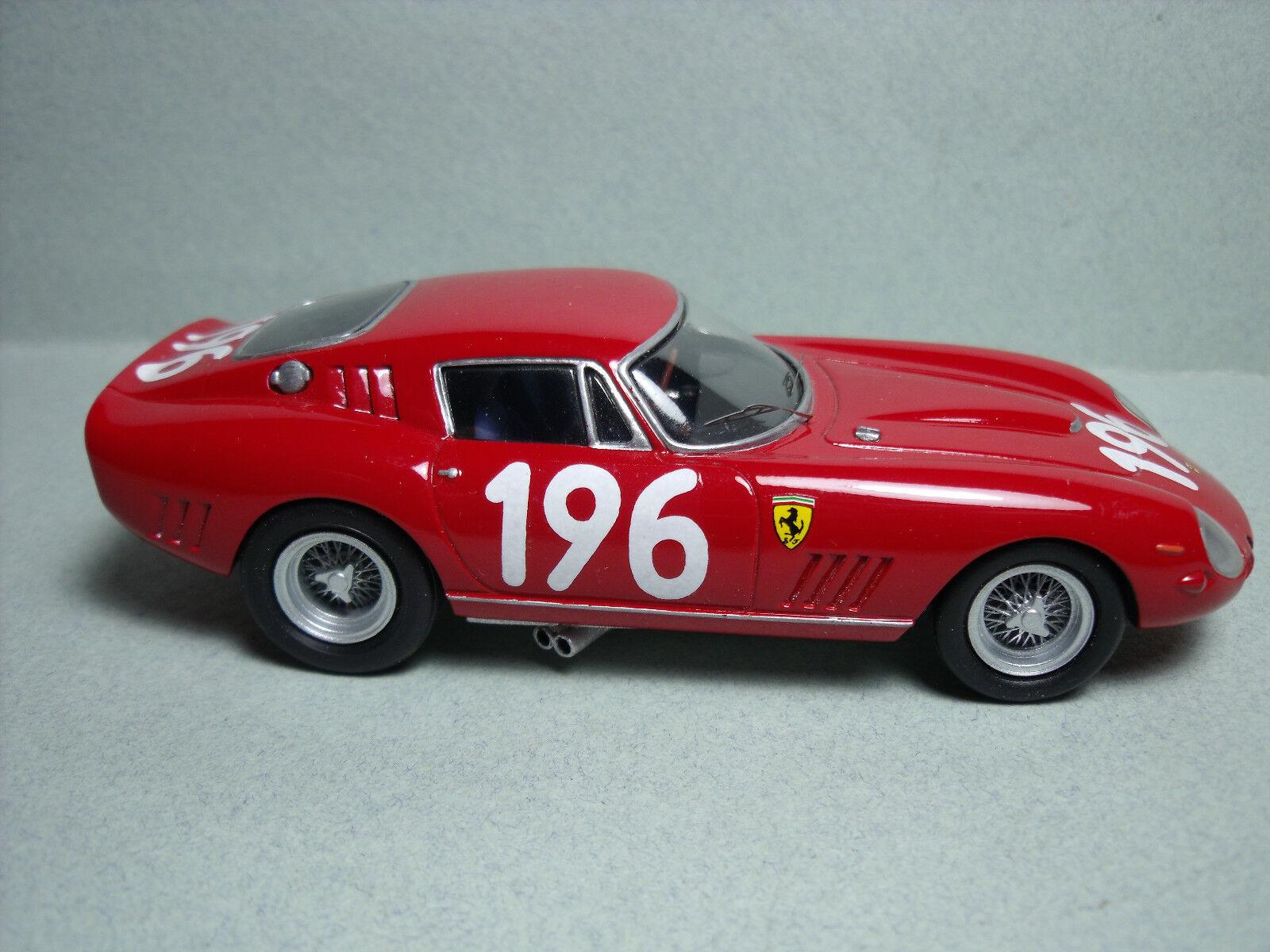 FERRARI    275  GTBC  TARGA FLORIO  1965   VROOM  1 43  UNPAINTED  KIT  NO  SPARK 692cc7