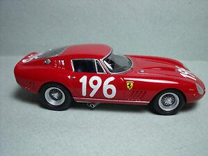 Ferrari 275 Gtbc Targa Florio 1965 Kit Vaint 1/43 non peint sans étincelle