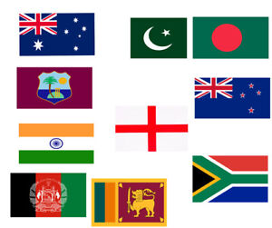 10 Metres Rugby Sports Teams Fabric Large Flags of The World Cup Party Bunting